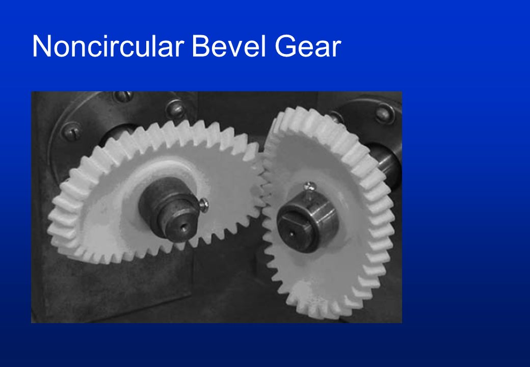 Noncircular Bevel Gear