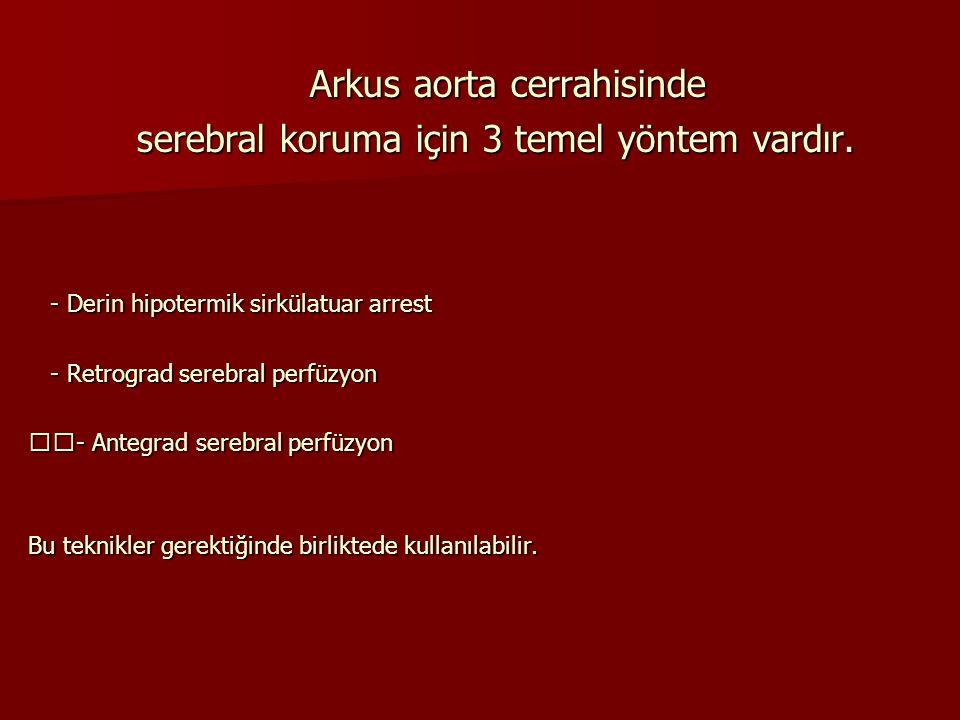 Arkus aorta cerrahisinde