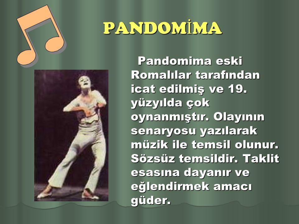PANDOMİMA
