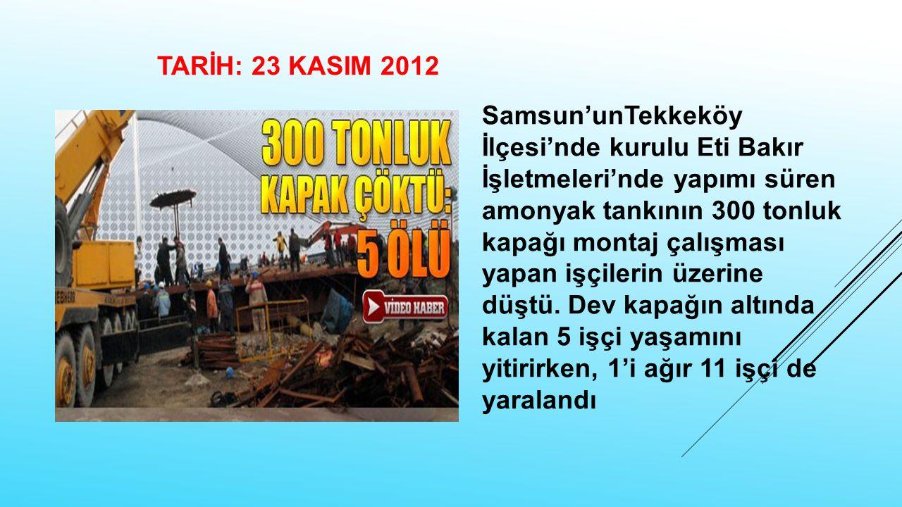 TARİH: 23 KASIM 2012