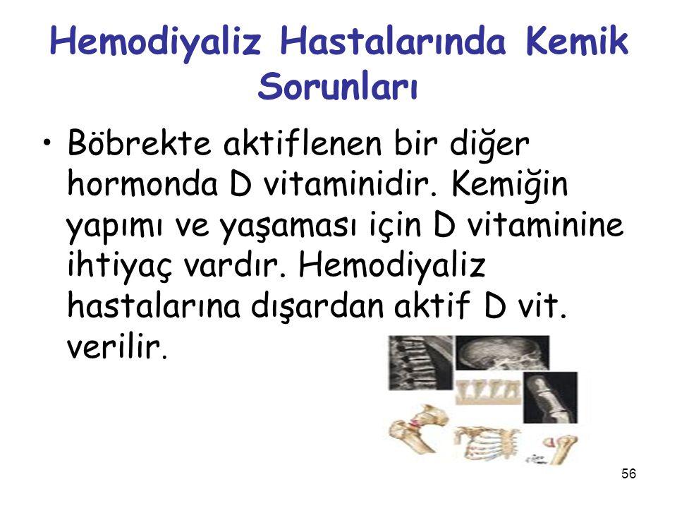 Hemodiyaliz Hastalarında Kemik Sorunları
