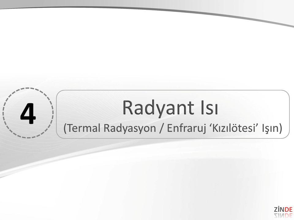 (Termal Radyasyon / Enfraruj 'Kızılötesi' Işın)