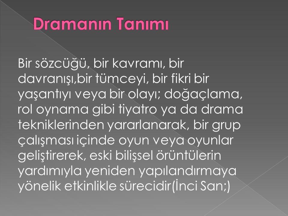 Dramanın Tanımı