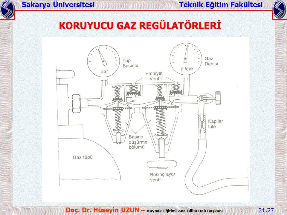 KORUYUCU GAZ REGÜLATÖRLERİ