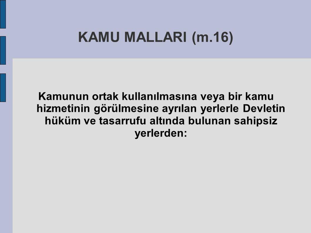 KAMU MALLARI (m.16)