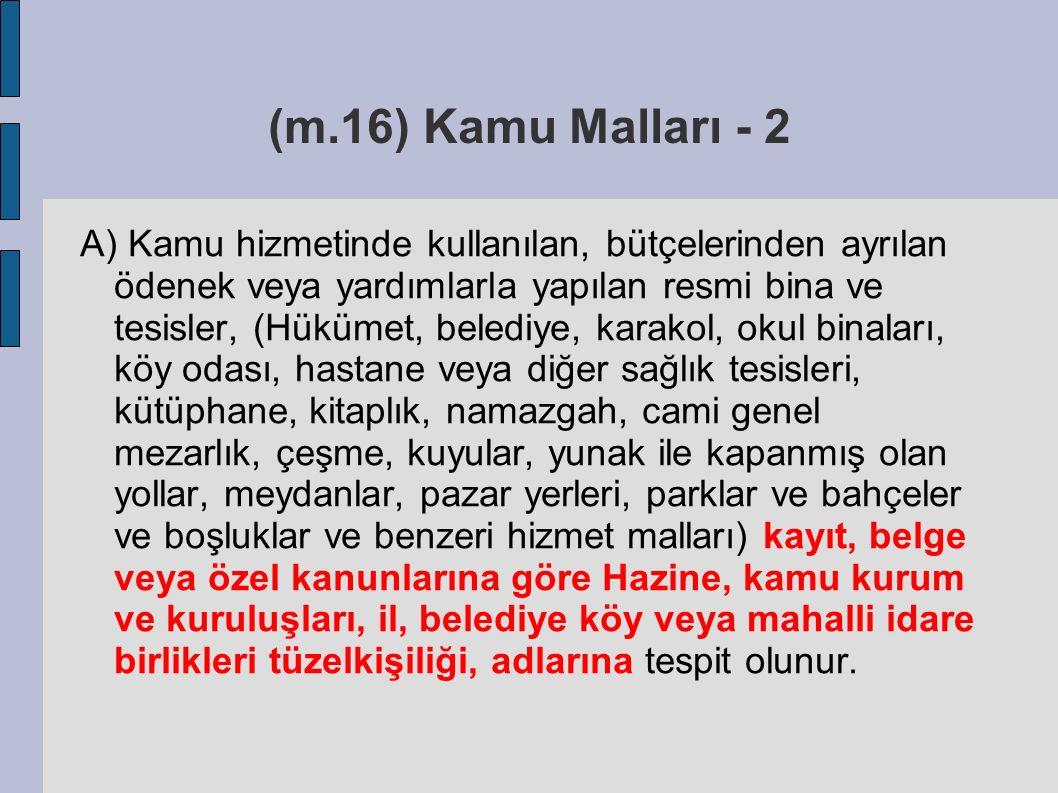 (m.16) Kamu Malları - 2