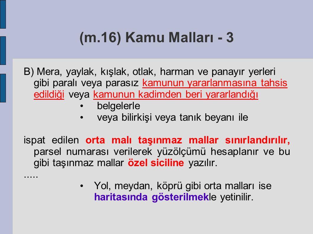 (m.16) Kamu Malları - 3