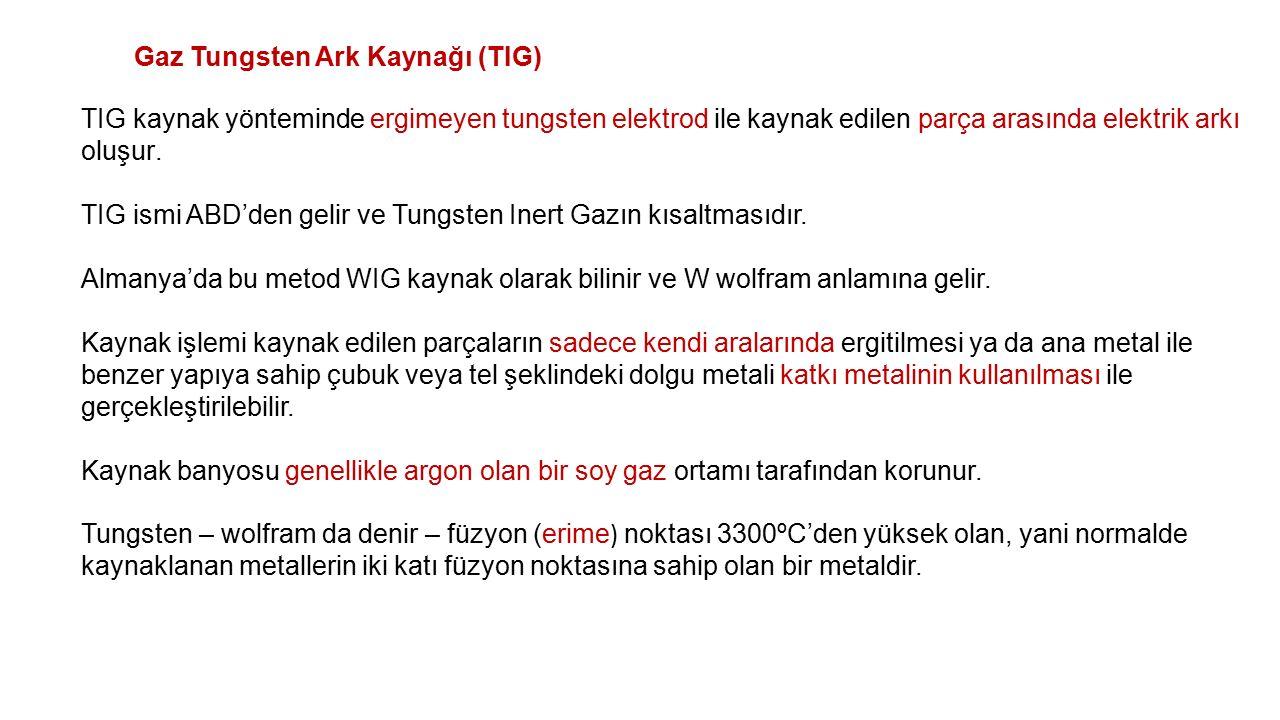 Gaz Tungsten Ark Kaynağı (TIG)
