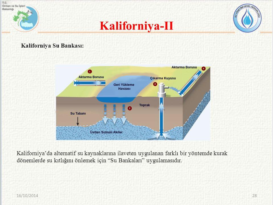 Kaliforniya-II Kaliforniya Su Bankası: