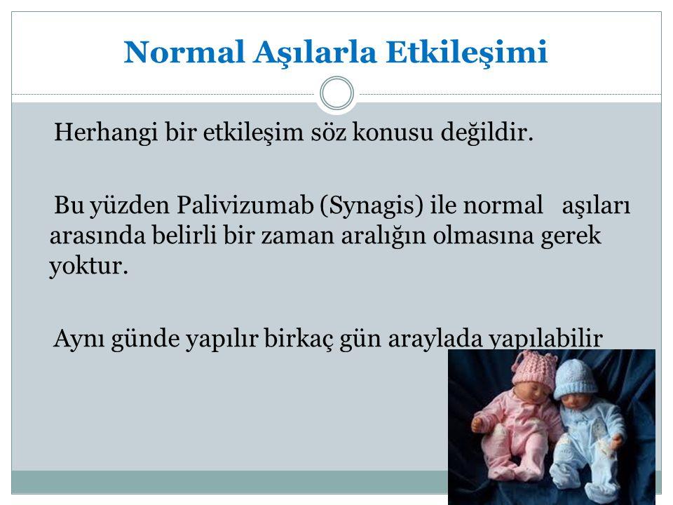 Normal Aşılarla Etkileşimi