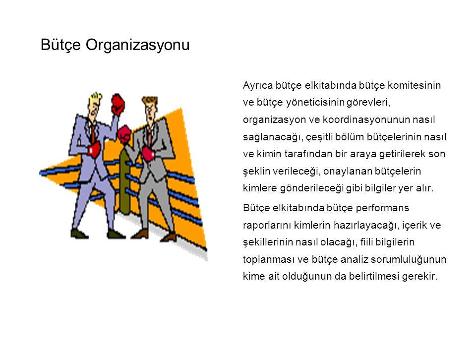 Bütçe Organizasyonu
