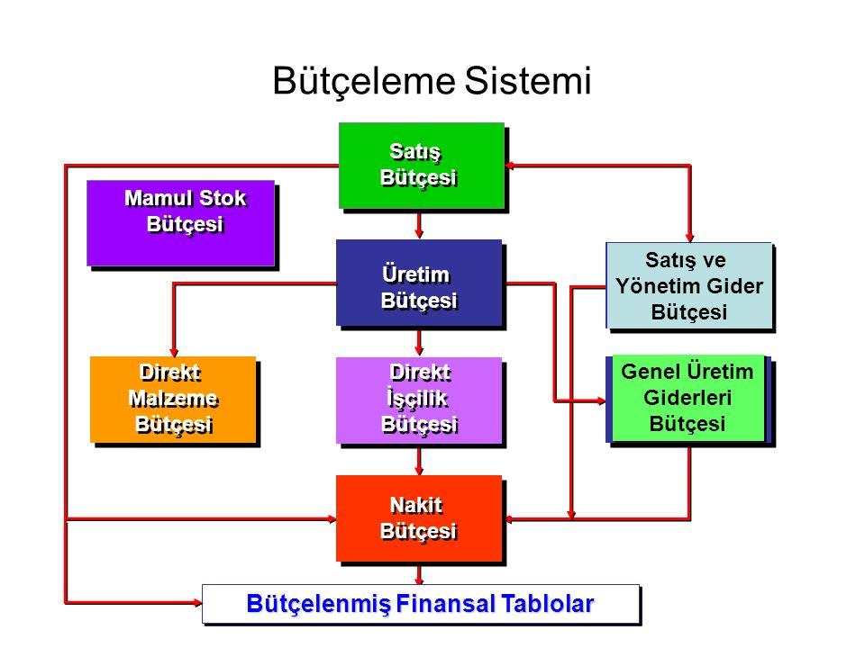 Bütçelenmiş Finansal Tablolar
