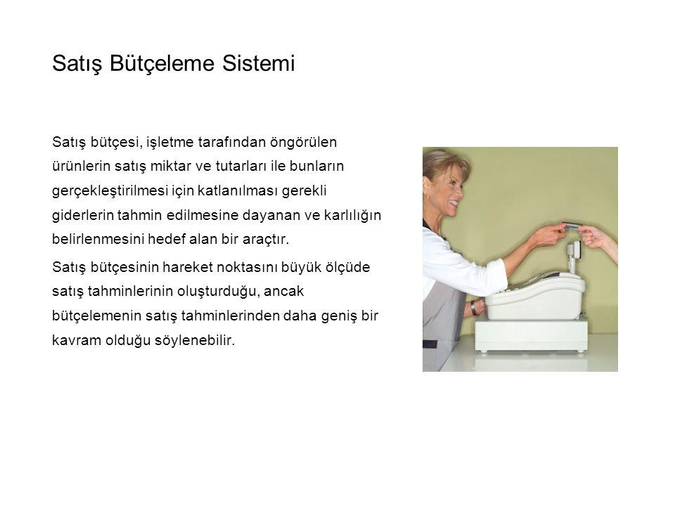 Satış Bütçeleme Sistemi