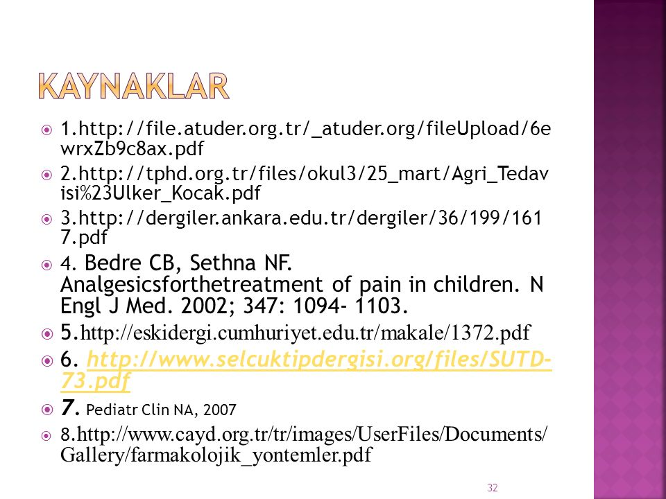 KAYNAKLAR 5.http://eskidergi.cumhuriyet.edu.tr/makale/1372.pdf