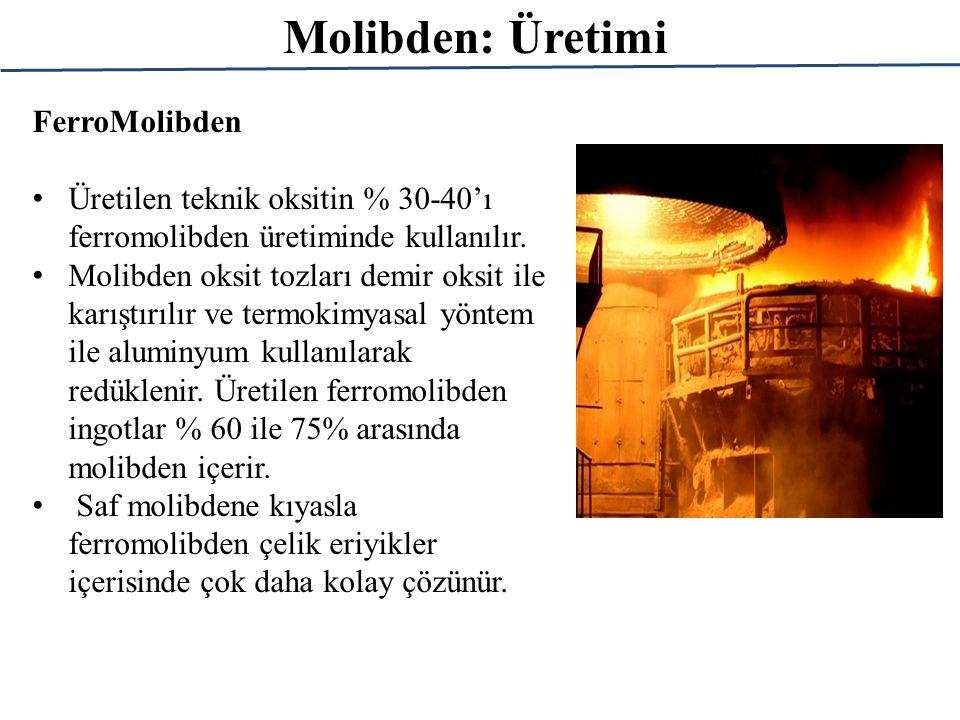 Molibden: Üretimi FerroMolibden