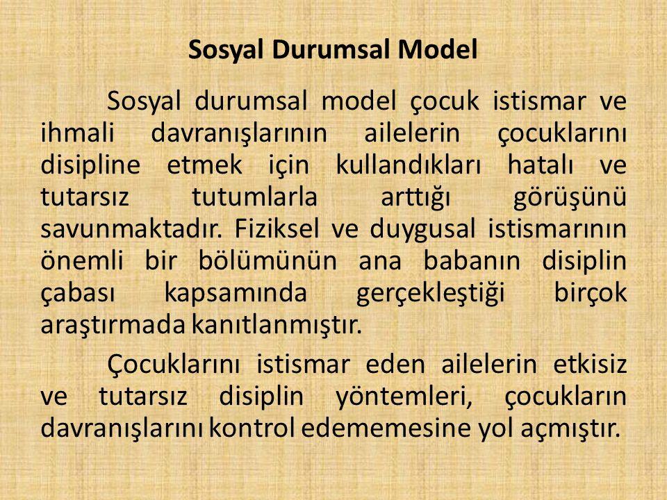 Sosyal Durumsal Model