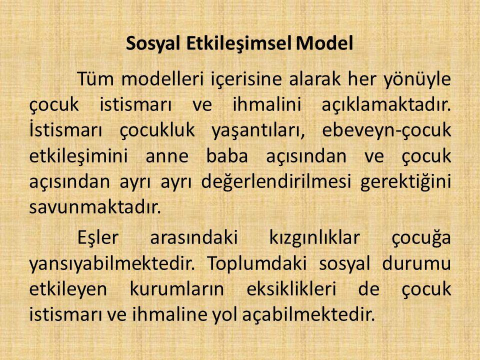 Sosyal Etkileşimsel Model