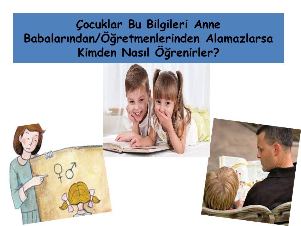 Çocuklar Bu Bilgileri Anne Babalarından/Öğretmenlerinden Alamazlarsa Kimden Nasıl Öğrenirler