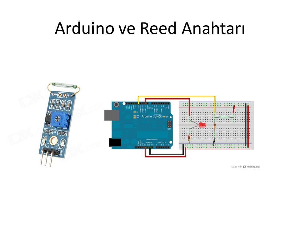 Arduino ve Reed Anahtarı