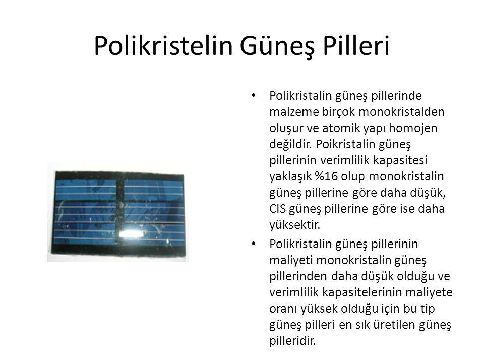 Polikristelin Güneş Pilleri