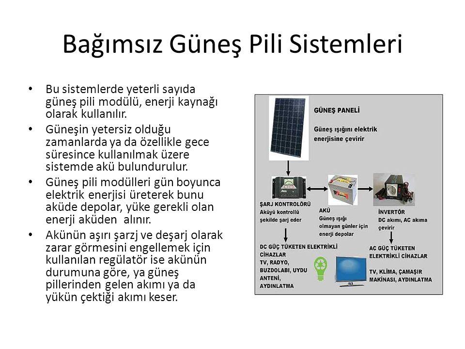 Bağımsız Güneş Pili Sistemleri