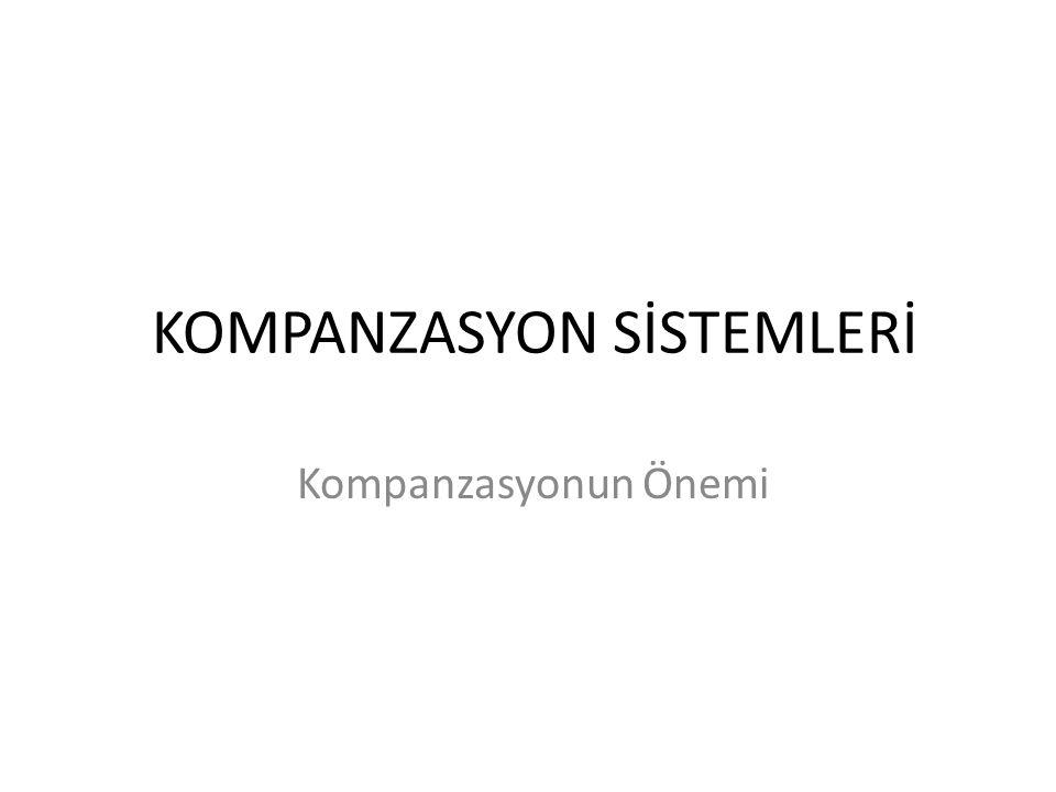 KOMPANZASYON SİSTEMLERİ
