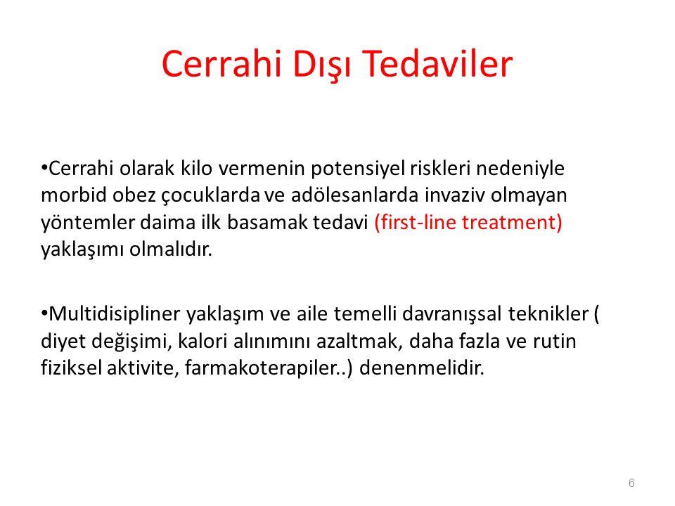 Cerrahi Dışı Tedaviler