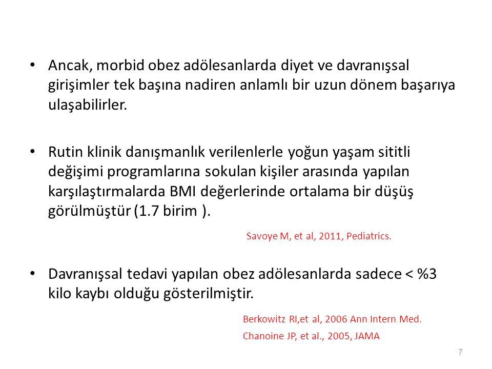 Savoye M, et al, 2011, Pediatrics.