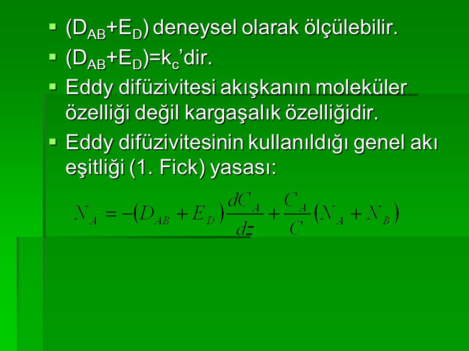 (DAB+ED) deneysel olarak ölçülebilir.