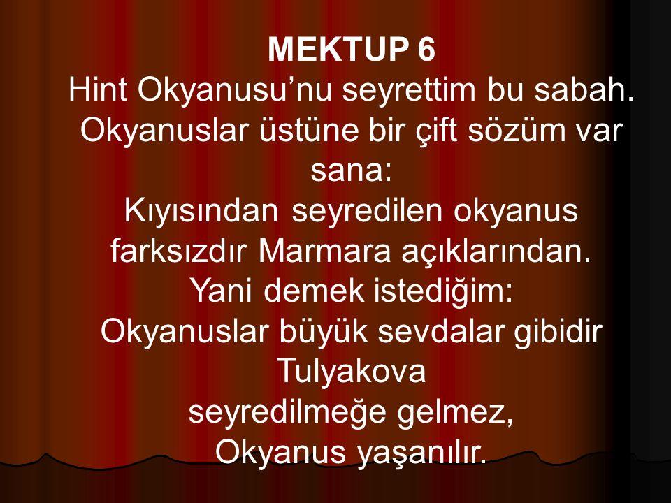 MEKTUP 6