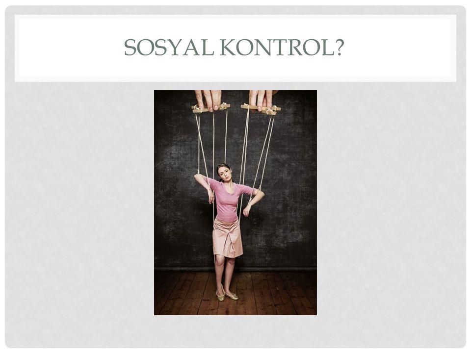 Sosyal kontrol