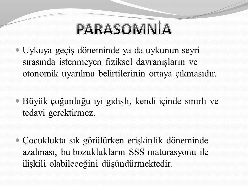 PARASOMNİA