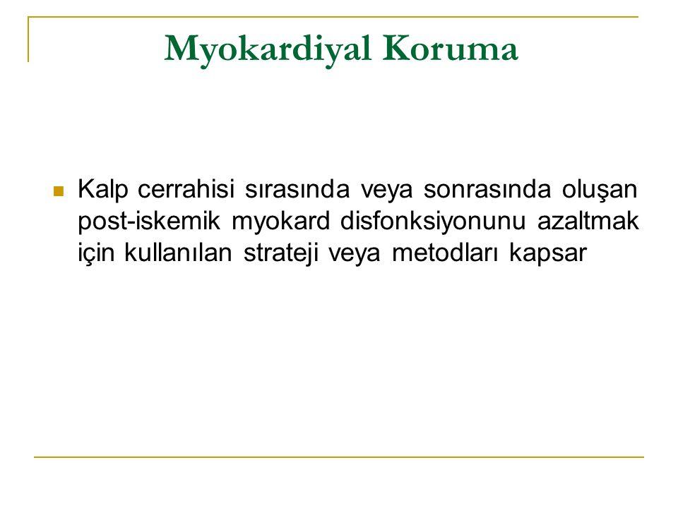 Myokardiyal Koruma