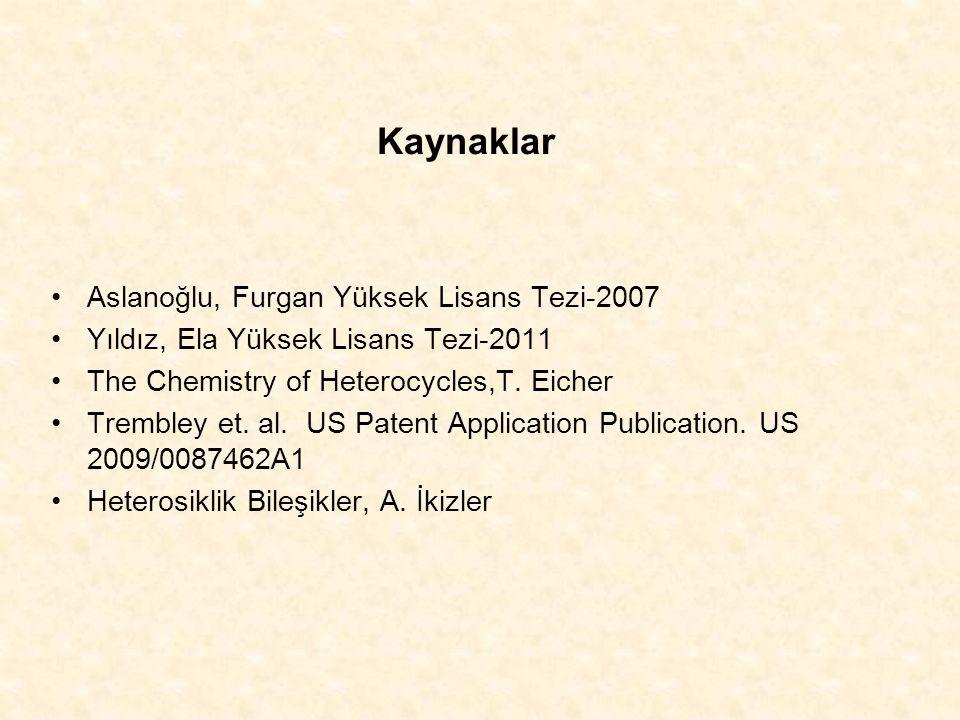 Kaynaklar Aslanoğlu, Furgan Yüksek Lisans Tezi-2007