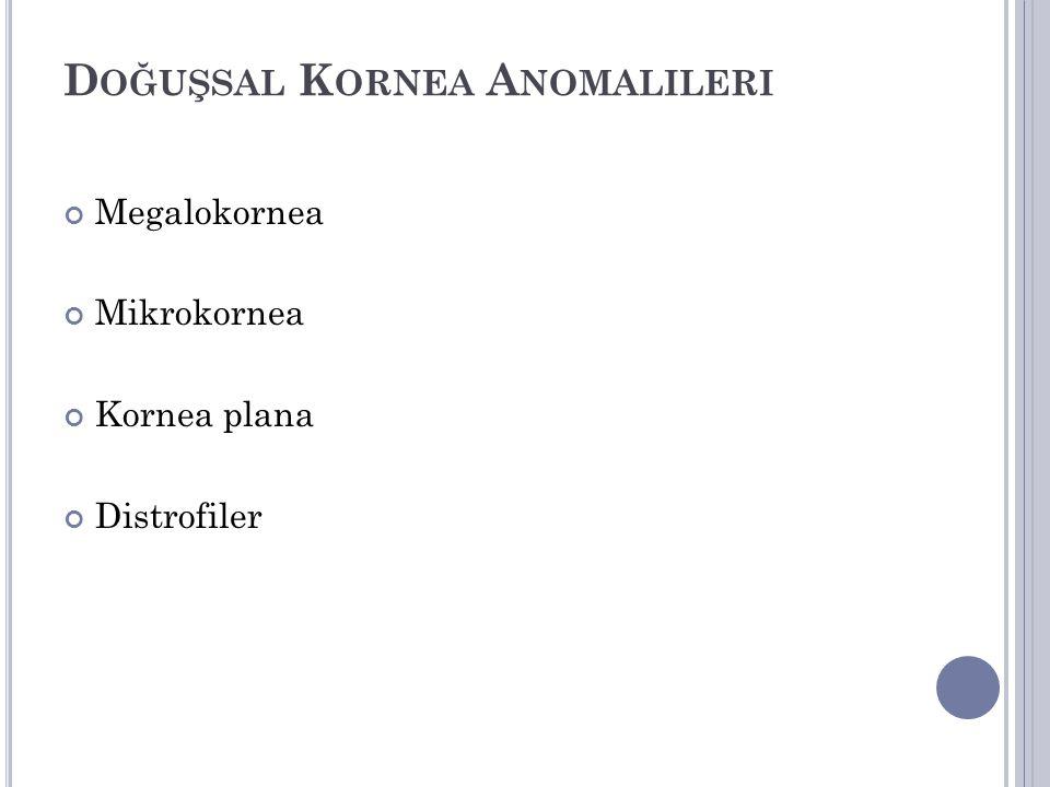 Doğuşsal Kornea Anomalileri