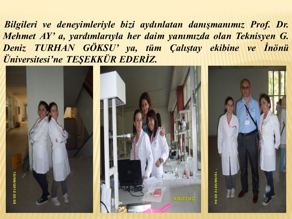 Bilgileri ve deneyimleriyle bizi aydınlatan danışmanımız Prof. Dr