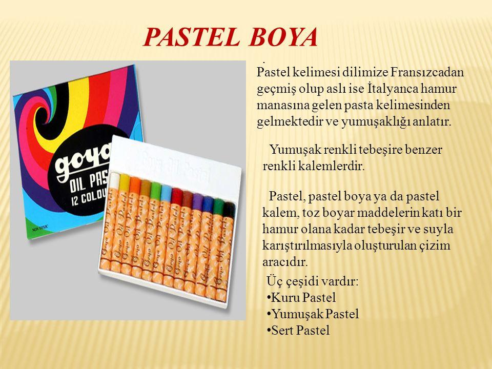 PASTEL BOYA .