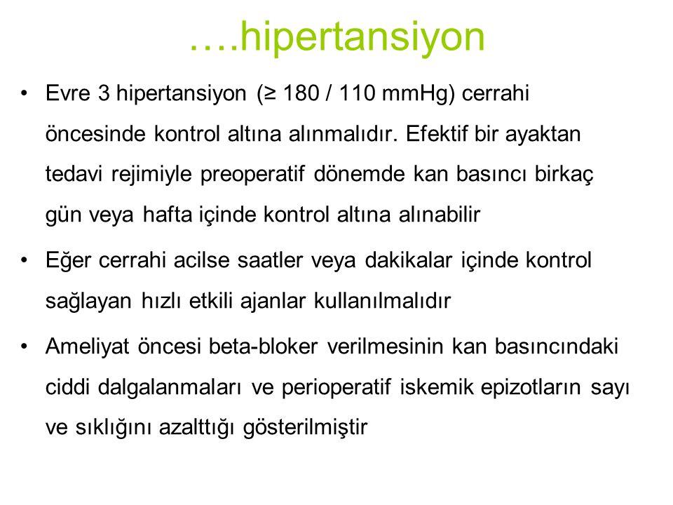 ….hipertansiyon