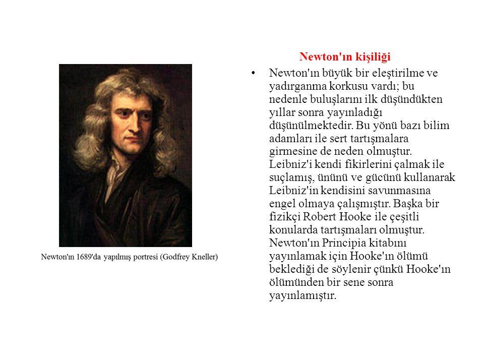Newton ın kişiliği