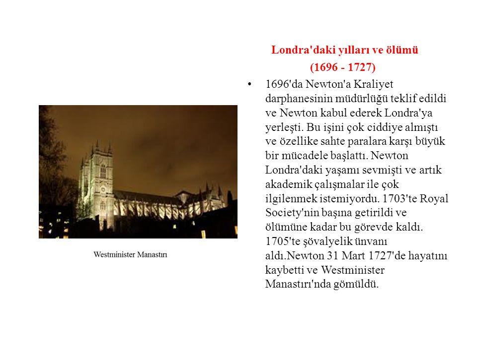 Londra daki yılları ve ölümü