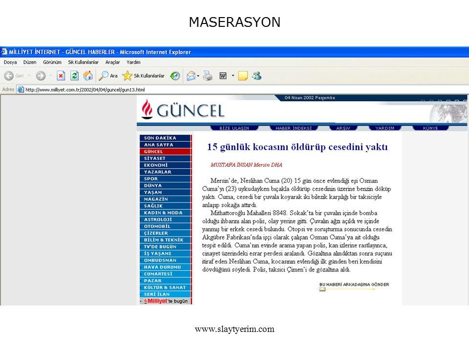 MASERASYON www.slaytyerim.com