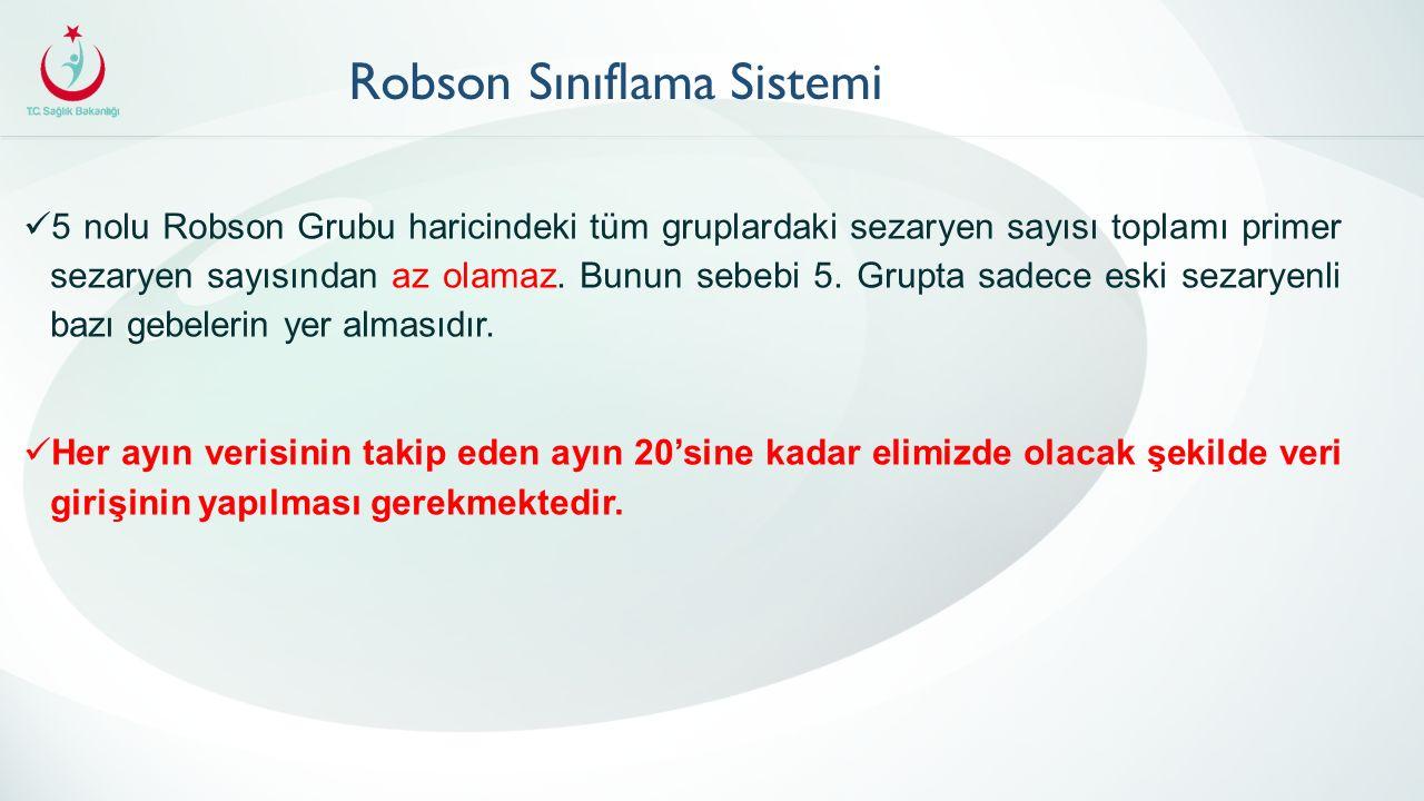 Robson Sınıflama Sistemi
