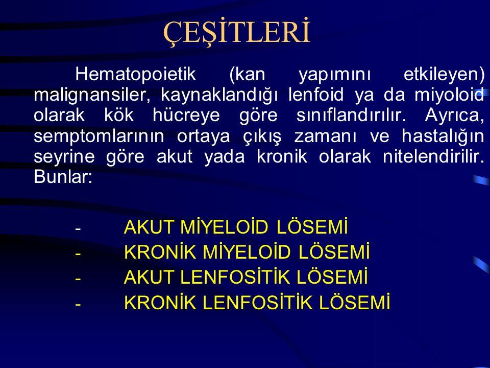 ÇEŞİTLERİ