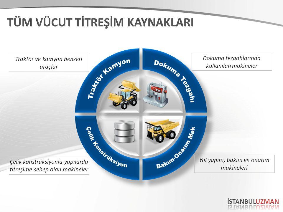 Traktör Kamyon Dokuma Tezgahı Çelik Konstrüksiyon Bakım-Onarım Mak
