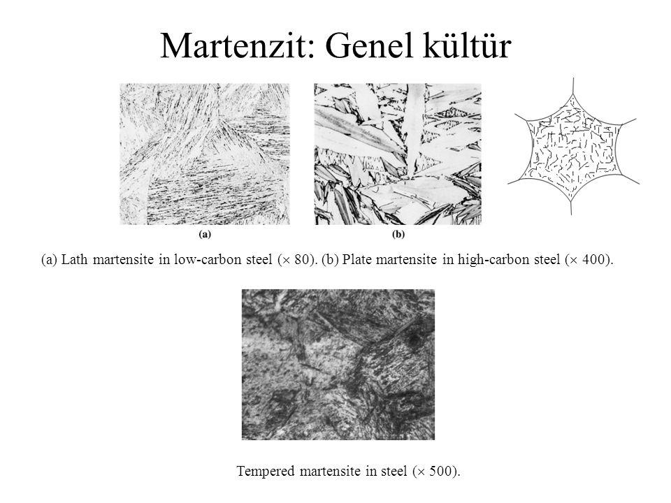 Martenzit: Genel kültür