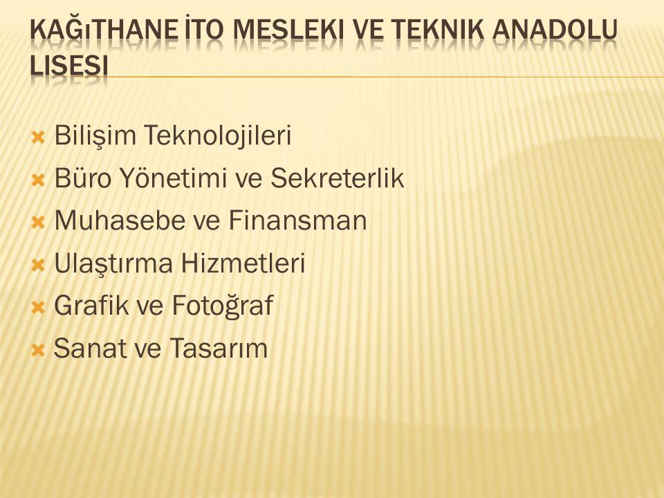 Kağıthane İTO Mesleki ve Teknik Anadolu Lisesi