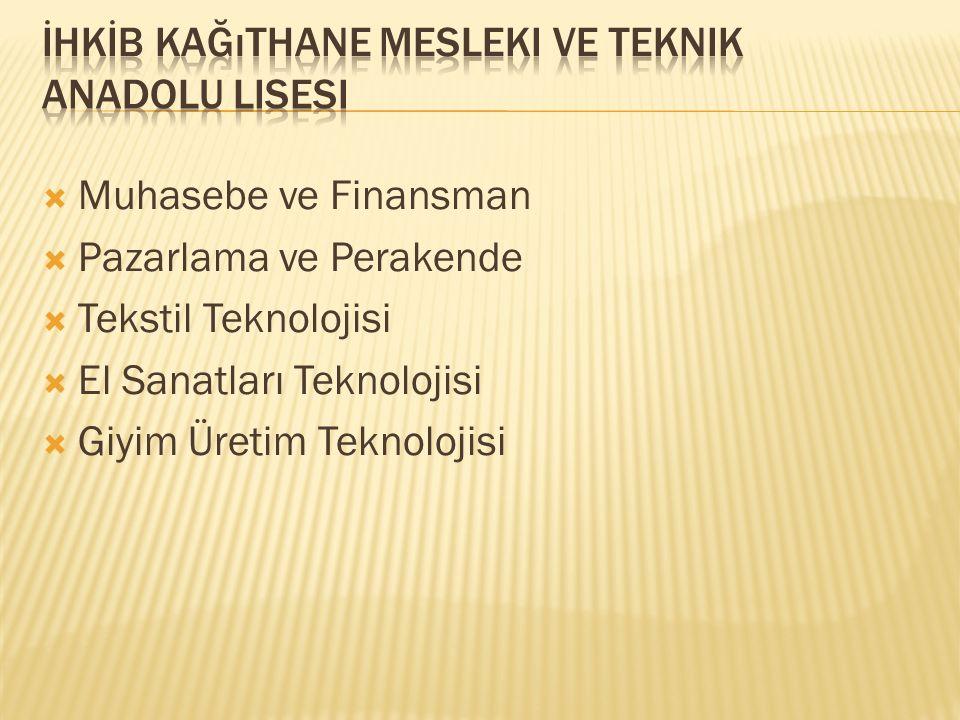 İHKİB Kağıthane Mesleki ve Teknik Anadolu Lisesi