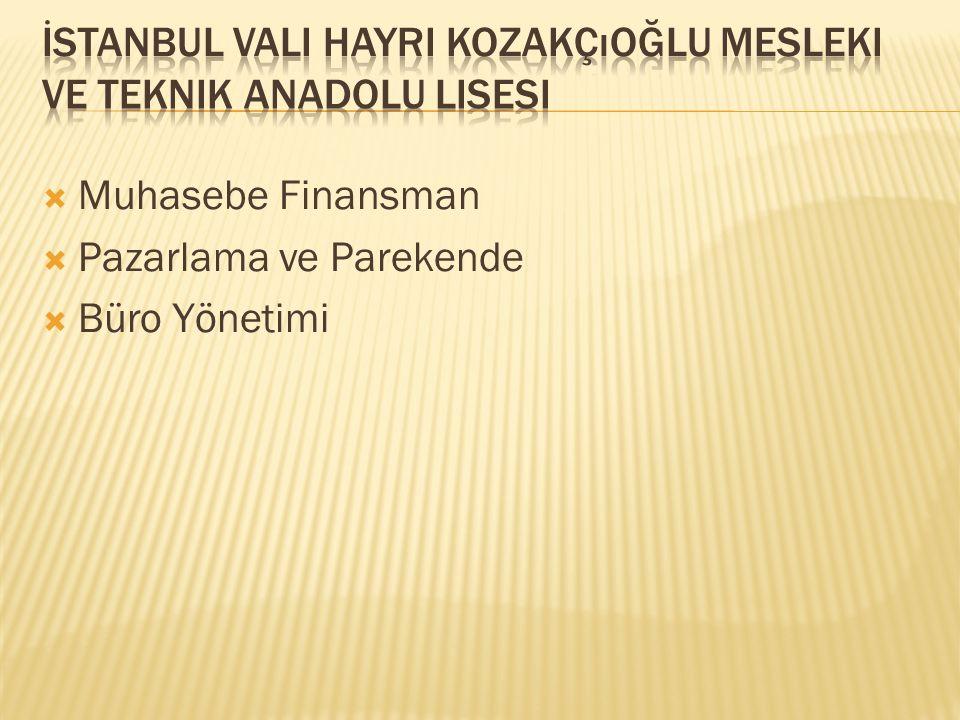 İstanbul Vali Hayri Kozakçıoğlu Mesleki ve Teknik Anadolu Lisesi