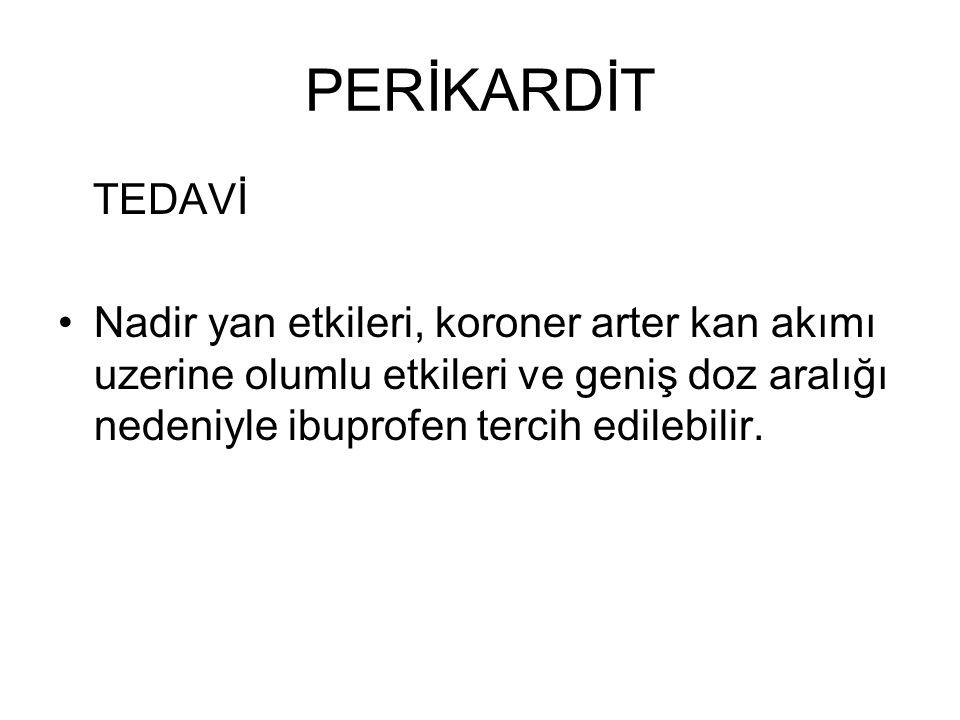 PERİKARDİT TEDAVİ.