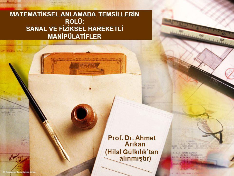 Prof. Dr. Ahmet Arıkan (Hilal Gülkılık'tan alınmıştır)